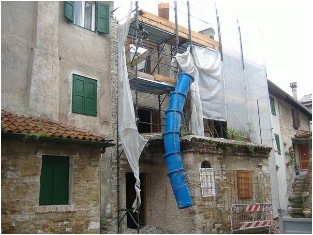 Ristrutturazione edificio sito in centro storico a grado for Sito storico